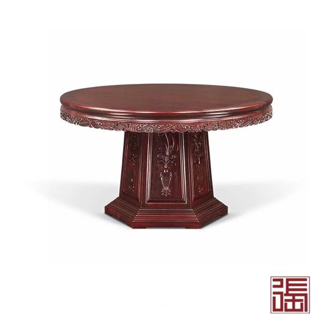 清式六角底座圆餐桌