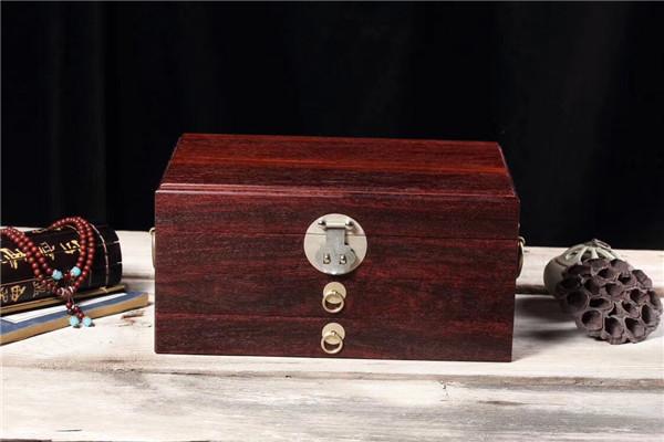 印度小叶紫檀首饰盒
